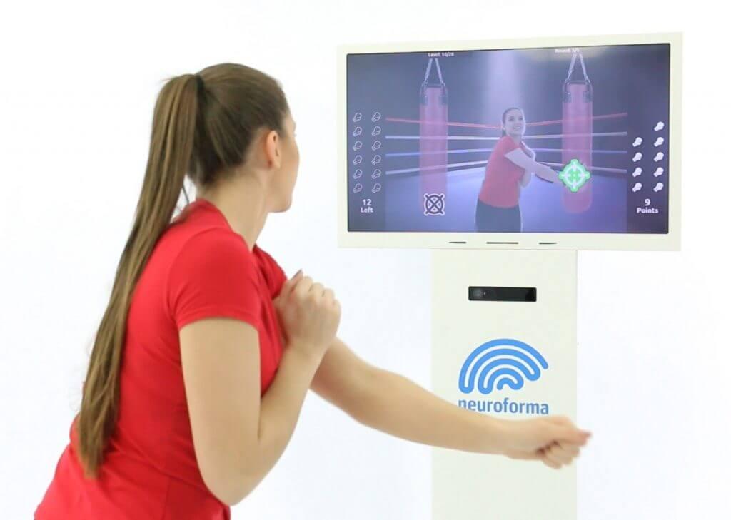 Stanowisko Neuroforma PRO - do interaktywnych ćwiczeń ruchowo-poznawczych w placówce